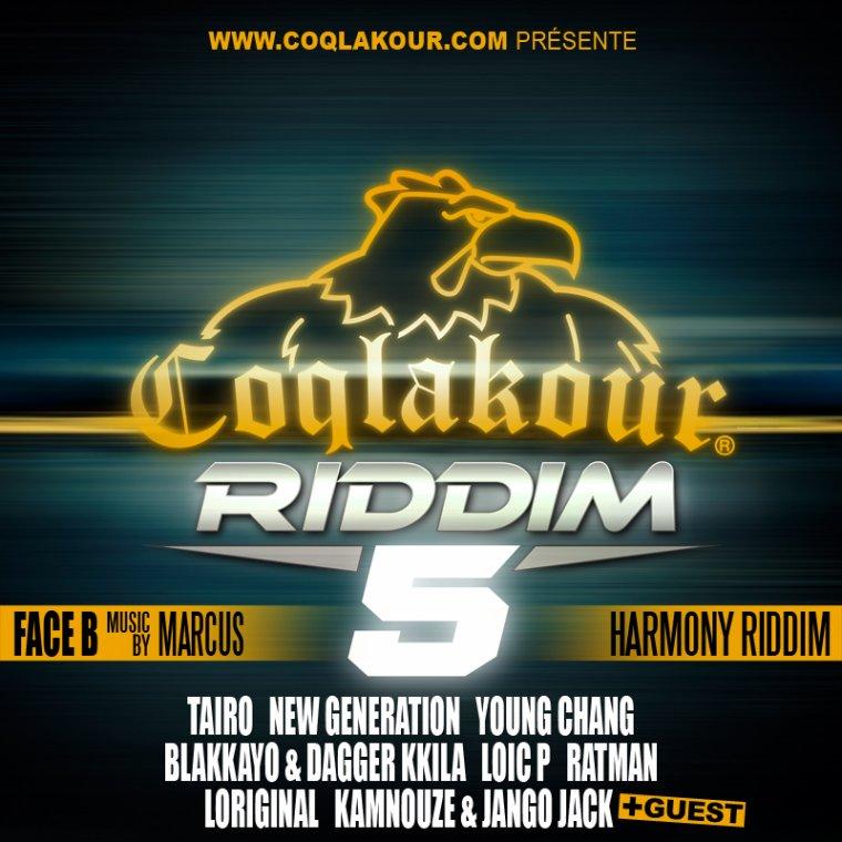 COQLAKOUR RIDDIM 5 FACE B / RATMAN JAH JAH (2013)