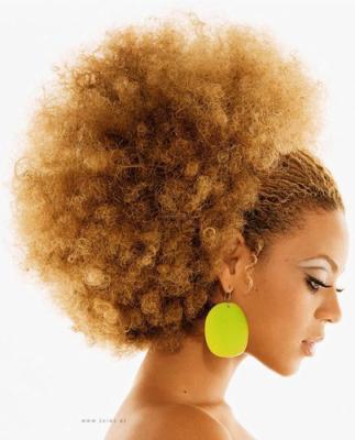 Coupe et couleur cheveux afro