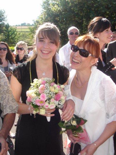 Ma mère et moi au mariage