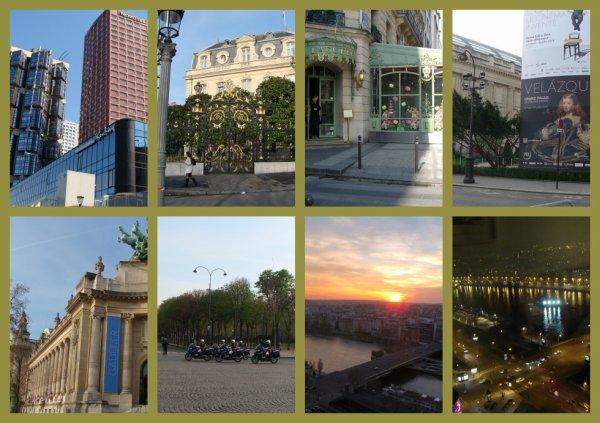 2 jours à Paris, et les pieds en compote... 12km + 18 km , haaa...