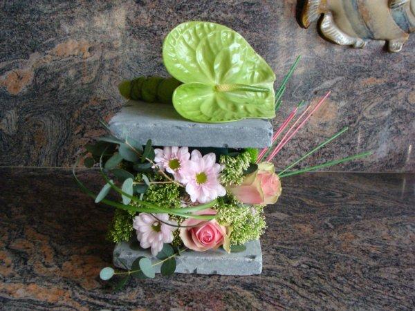 """Art Floral   """"Cercle Horticole d'Aubange """" un plaisir partagé avec les copiness"""