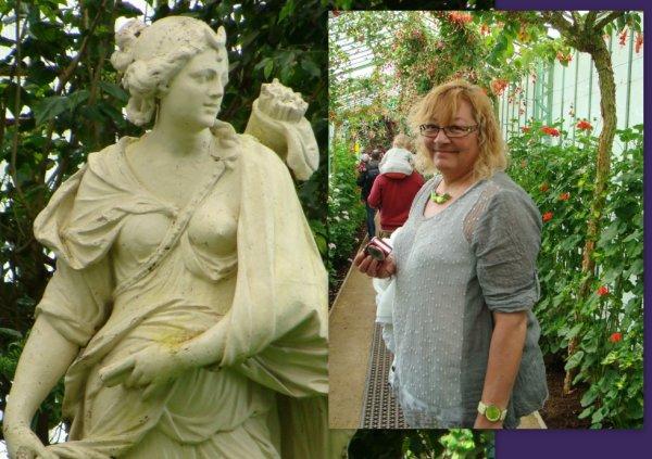 Deux statues... ha ha ha
