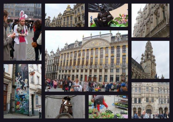 Petit tour à Bruxelles à la fin du marché ...