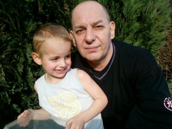 papy avec ethan