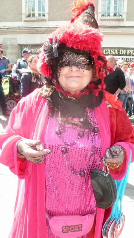 Rose Noire au Carnaval de Tours 2015