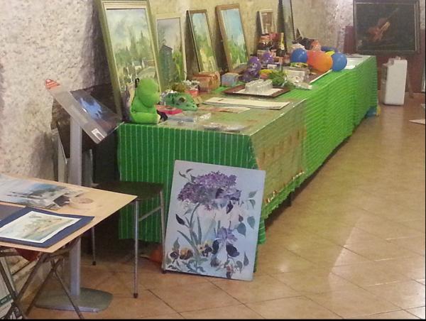 Atelier Printemps expo Mory à Lavardin
