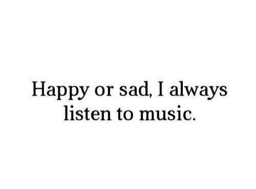 20 chansons qui me rendent heureuse et le 20 chansons qui me font pleurer