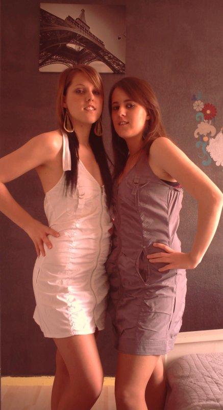 ma soeur amandine et moii ♥