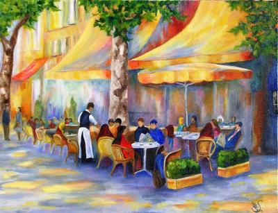 Souvent Pourquoi ne pas se prélasser dans un café à Aix en Provence  IQ61