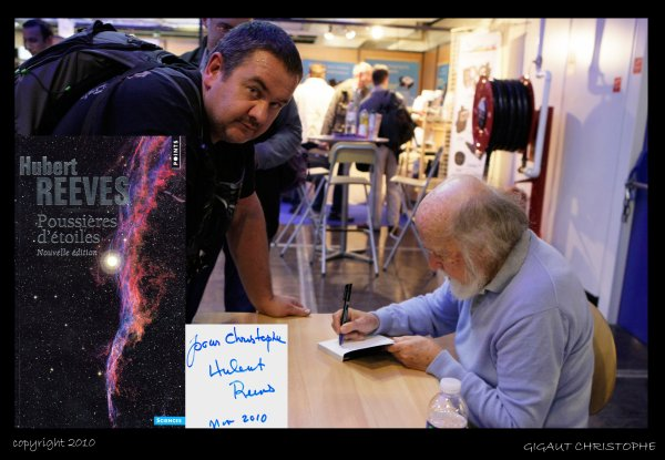 Salon de l astronomie dedicace avec hubert reeves blog - Salon de l astronomie ...