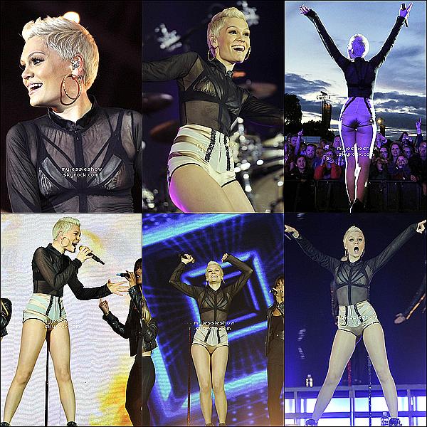... 04/08/13 : Jessie J au festival Radio 2 Festival se déroulant au Hyde Park à Londres + interview  ...