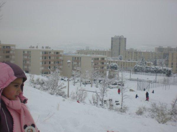 Il Neige à Consolat