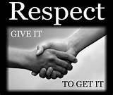 LE respect qu'en pensez vous ?