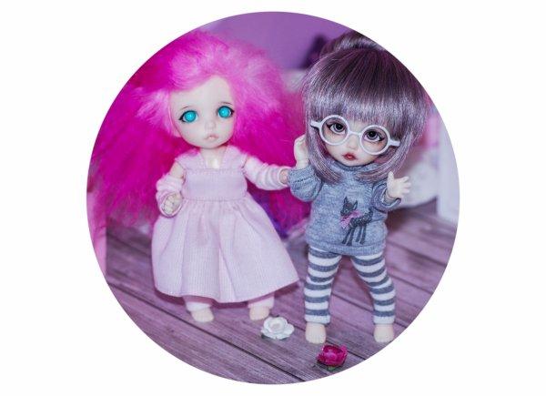 Présentation de mes dolls <3