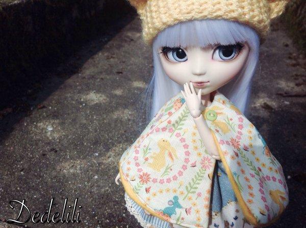 Léona innove ses tenues