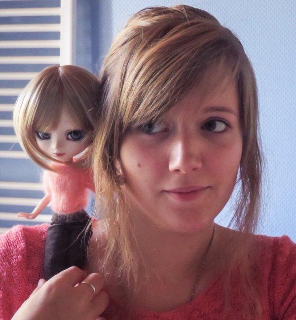 Raphaëlle et... Petite surprise...