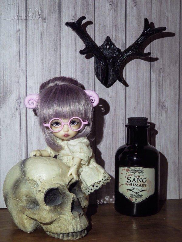 Deco Halloween pour Rose