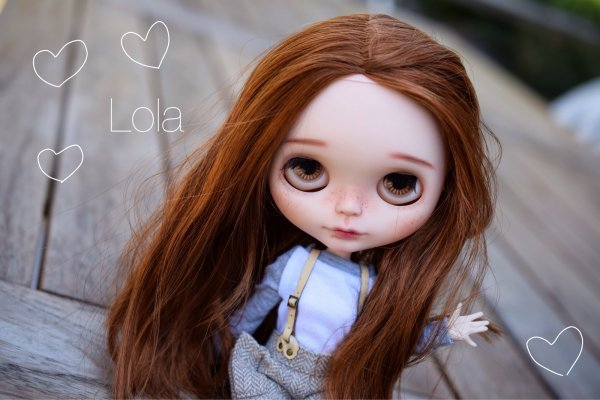 New girl ; meet Lola <3