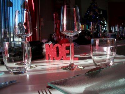 LA TABLE DU REPAS DE NOEL. 2009