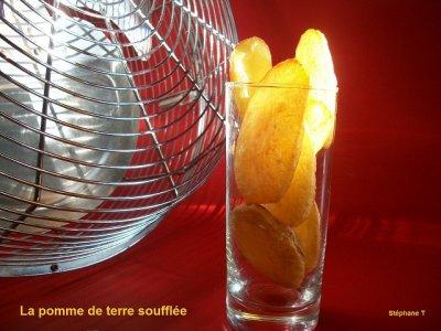 LA POMME DE TERRE SOUFFLEE - recette et photo par steph caen