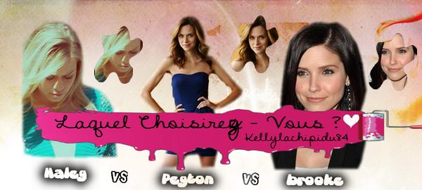 Qui choisirez vous ?