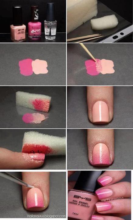comment faire un d grad make up hair nails art and more. Black Bedroom Furniture Sets. Home Design Ideas