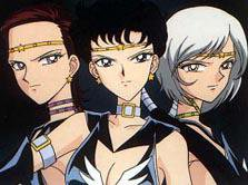 Sailor Stars: Les Three Lights