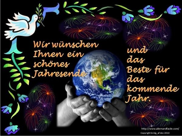 Frohes jahres 2013