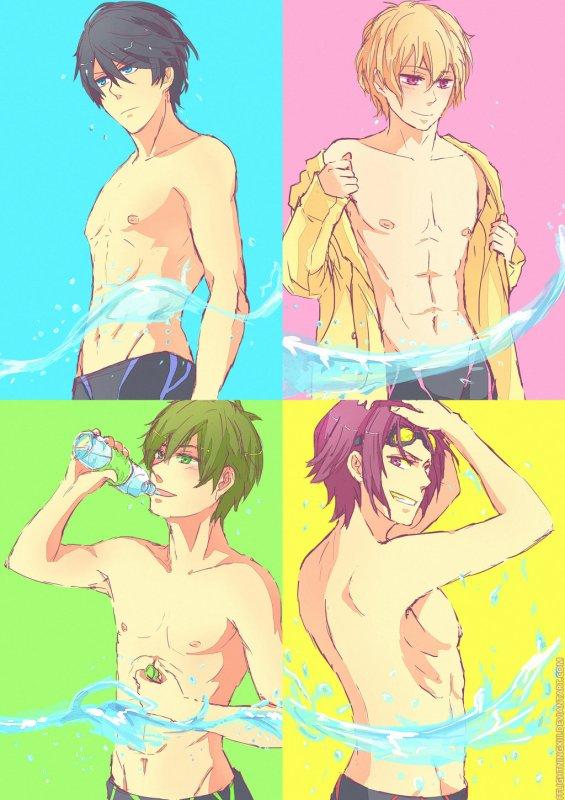 Free! Iwatobi Swim Club。