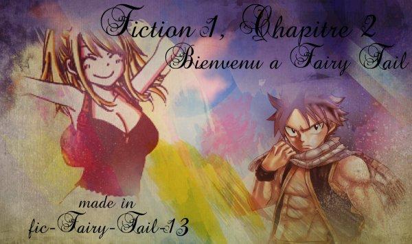 Fiction 1, Chapitre 2 : Bienvenue à Fairy Tail