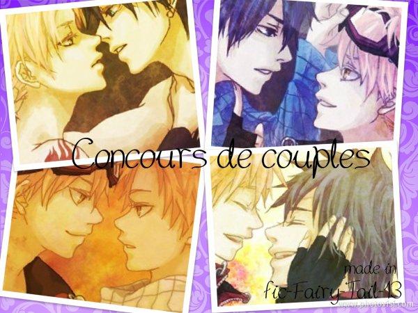 Concours de couples Yaoi / Yuri