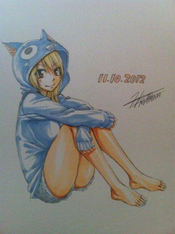 Quelques dessins d'Hiro Mashima (partie 1)
