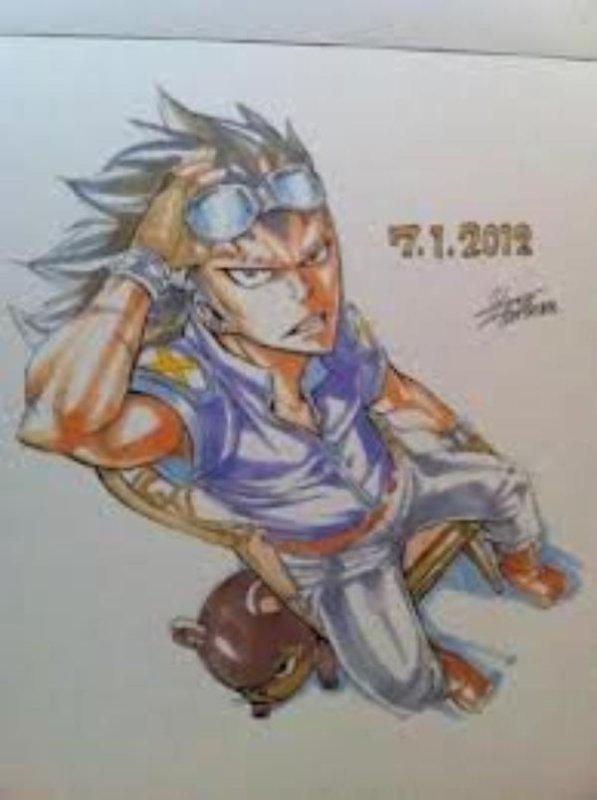Quelques dessins d'Hiro Mashima (partie 5)