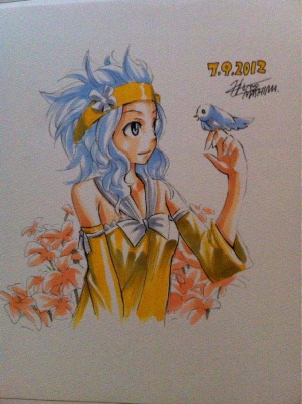 Quelques dessins d'Hiro Mashima (partie 6)