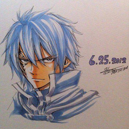 Quelques dessins d'Hiro Mashima (partie 7)