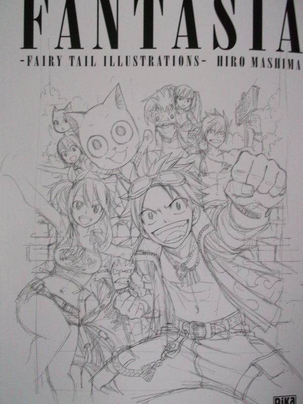 Artbook Fairy Tail (partie 1)