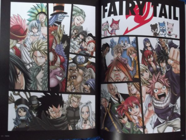 Artbook Fairy Tail ( partie 2 )