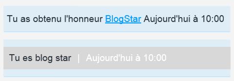 Blog Star !!