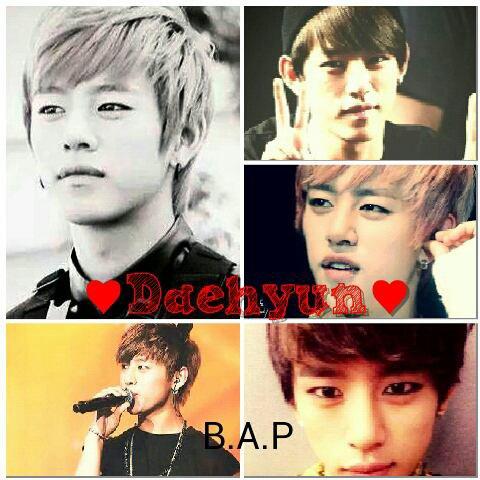 HB  Daehyun !! ♡♥♡♥♡♥