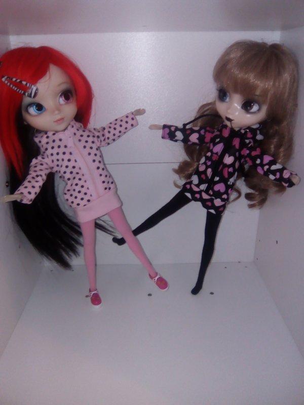 Mes deux dolls
