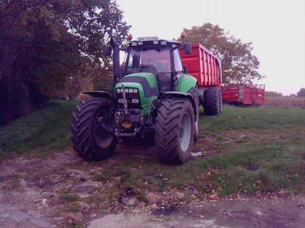 M 650 & Brochard 21 tonnes au Maîs