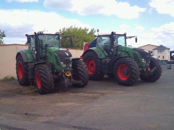 Fendt 828 &é 936 Sublimee
