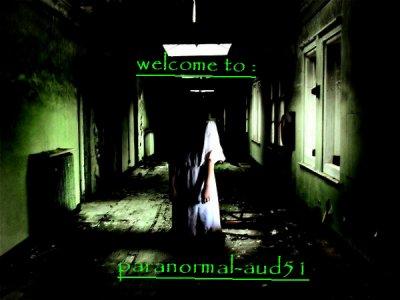 bienvenue dans le monde du paranormal