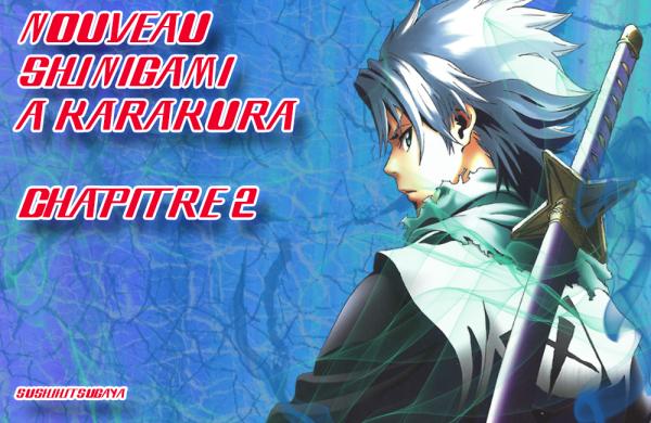 Nouveau Shinigami à Karakura Chapitre 2 Nouvelle Version
