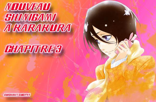 Nouveau Shinigami à Karakura Chapitre 3 Nouvelle Version