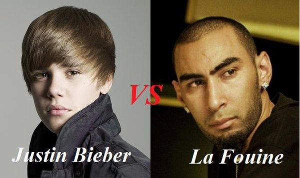 Justin Bieber VS La Fouine !!!!!