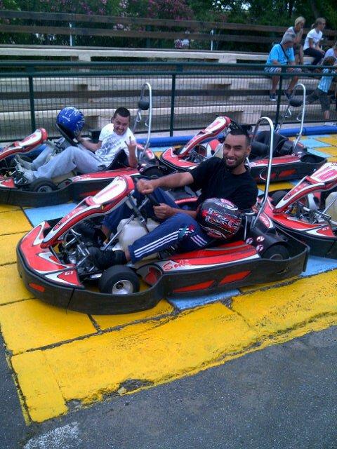♥ ♥ ♥ ♥ La Fouine Au Karting ♥ ♥ ♥ ♥