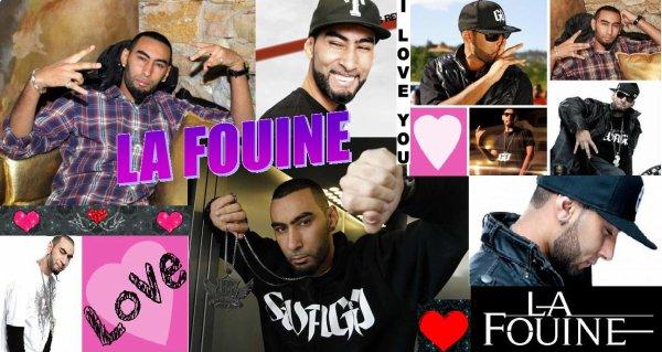 La Fouine ~ Montage que j'ai fais !!