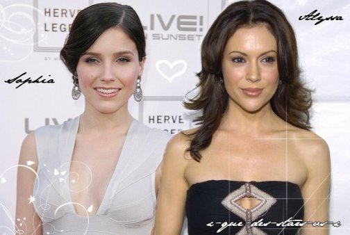 Sophia Bush VS Alyssa Milano