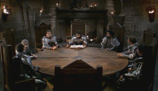 Kaamelott livre i le chevalier myst re kaamelott - Noms des chevaliers de la table ronde ...